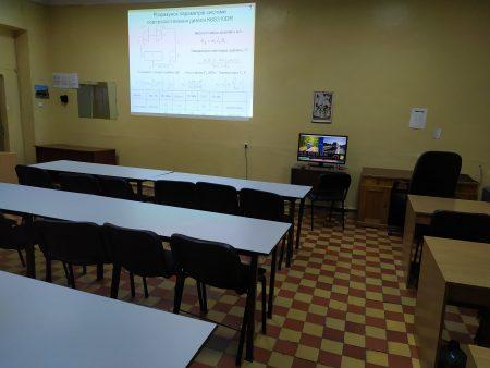 Кімната аспірантів та зал для семінарів кафедри
