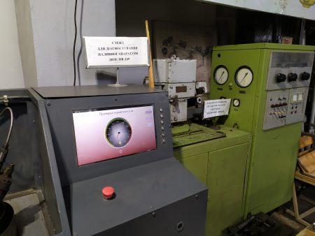 Сектор випобувань паливної апаратури мість традиційне обладнання та стенди власної розробки