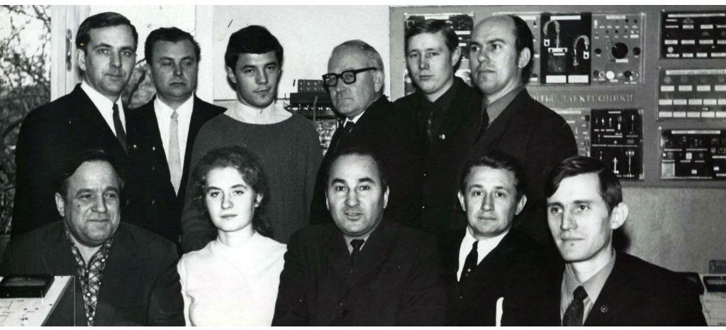 Состав кафедры 1971г.