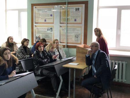 Участь студентки спеціальності МОА у Студентській науковій конференції