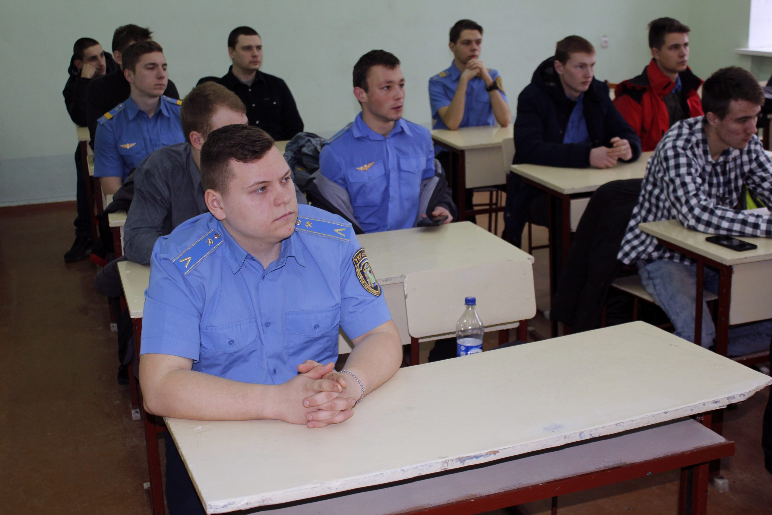 Зустріч зі студентами Харківського професійного ліцею залізничного транспорту