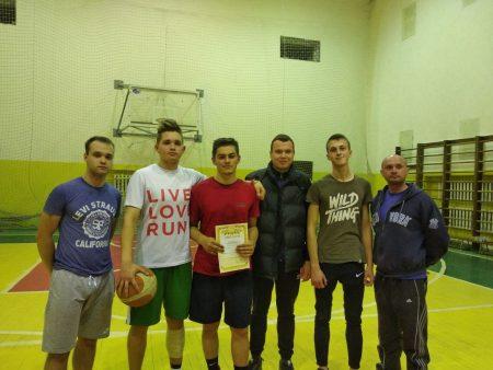Завершилася Спартакіада серед І-х курсів з баскетболу