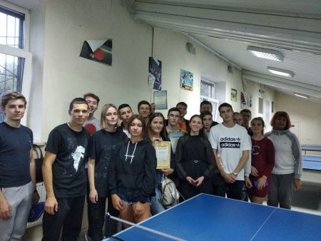 Завершилася Спартакіада УкрДУЗТ серед студентів І курсів з настільного тенісу.