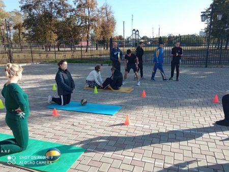 Фізкультурно-патріотичний захід з нагоди Дня захисника України «Козацькі розваги» продовжується!