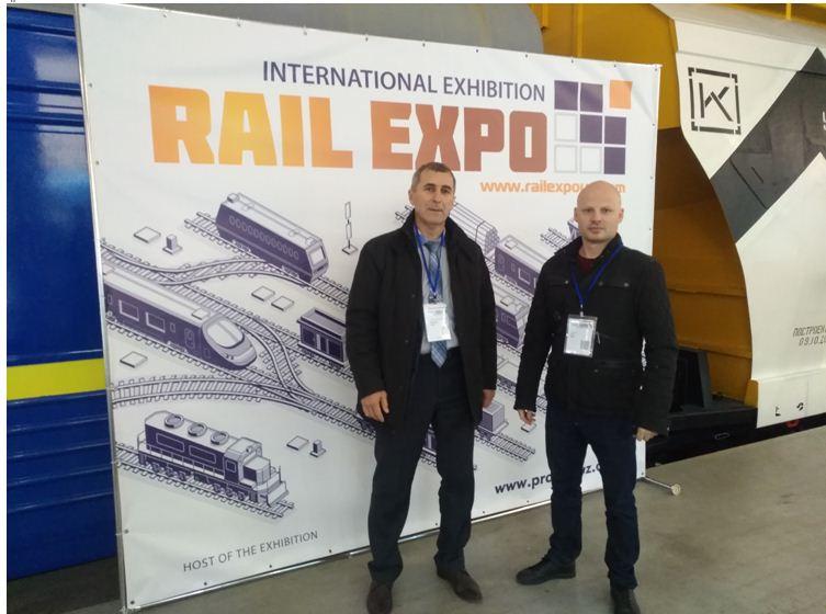 Представники кафедри відвідали виставку IV міжнародну виставку RAIL EXPO 2020