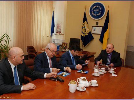 Візит делегації Посольства Республіки Азербайджан в Україні до Університету