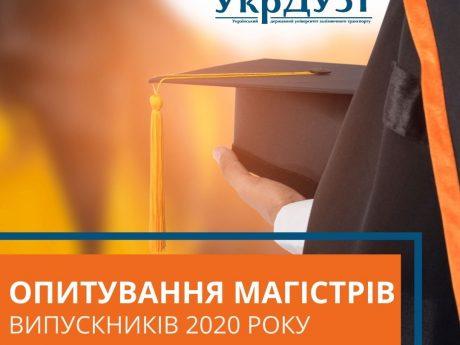 Опитування магістрів – випускників 2020 року!
