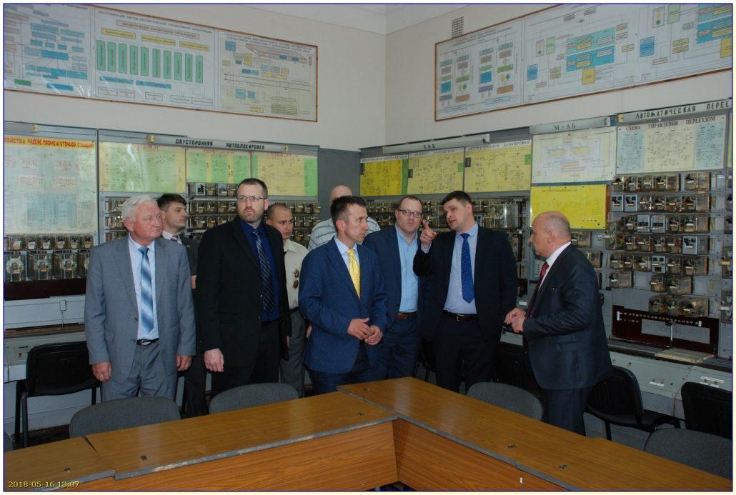 УкрДУЗТ відвідала делегація фахівців залізничної автоматики та комп'ютерних систем керування фірми «Ansaldo STS» групи «A Hitachi group Company» з міста Пітсбург (штат Пенсільванія, США)