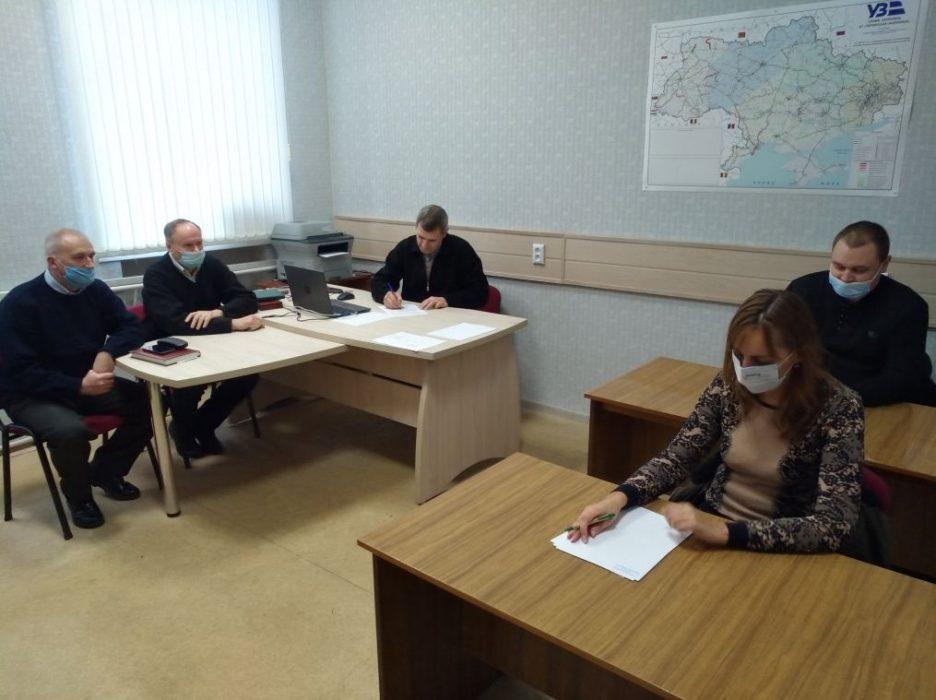Приймання іспиту у аспірантів