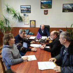 Керівництво локомотивного депо Основа завжди цікавиться новинами нашої кафедри та приймає активну участь у обговоренні проектів освітніх програм