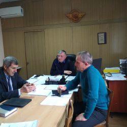 Під час зустрічі з головним інженером та начальником відділу кадрів Мелітопольського локомотивного депо були висловлені пропозиції щодо вибіркових освітніх компонентів програм