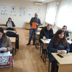 Проведення спеціального начання з перевезення небезпечних вантажів доцентом Запарою Ярославом Вікторовичем